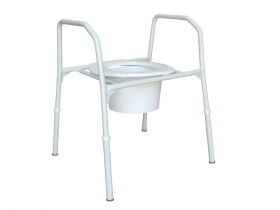 Over Toilet Frame - Extra Care (Aluminium) - 510 mm wide - 150 Kg user