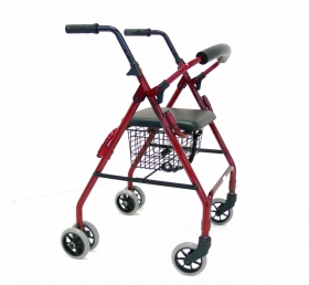 Push Down Brakes Walker (Aluminium) 5