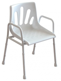 Redgum Aluminium Shower Chair